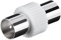 Adapter, Koax-Stecker - Koax-Stecker, Kunststoffausführung