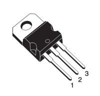 TIP122 - NPN Darlington-Transistor, 100V, 8A, TO-220