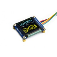 "1.5"" 128x128 OLED Display Modul, RGB, SPI Interface"