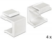 Keystone Abdeckung weiß 4 Stück