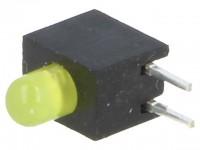 LED Array im Gehäuse, 3mm, einfarbig, gelb