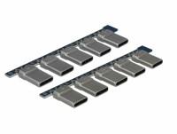 Steckverbinder USB 2.0 Typ-C Stecker, 10 Stück