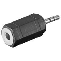 Klinken Adapter 3,5mm Stereo Klinkenkupplung - 2,5mm Stereo Klinkenstecker