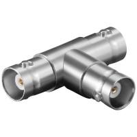 T-Adapter BNC Kupplung - 2 x BNC Kupplung