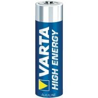 VARTA High Energy Batterien Alkaline Mignon AA, 4er Blister