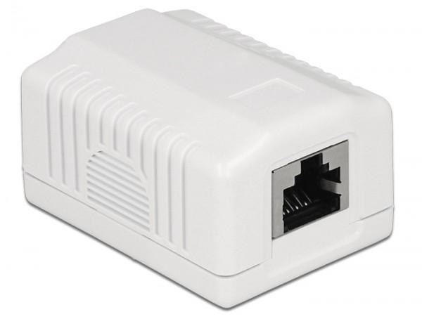Netzwerk Anschlussdose 1 Port Cat.6A LSA