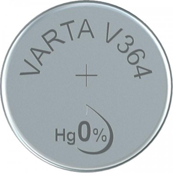 VARTA Silberoxid Uhrenbatterie V364