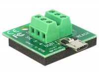 Adapter Terminalblock - Micro USB 2.0 B Stecker