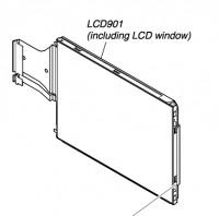 Original LC-Display für Sony Cyber-Shot DSC-WX1 inkl. LCD Window