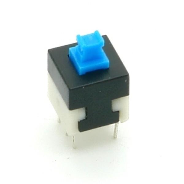 Mikro-Druckschalter, Printmontage, vertikale Montage, 8x8mm, H 13,5mm