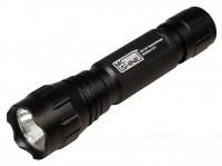 LED UV-Taschenlampe LU1, 3W, 365nm, inkl. 3000mAh Akku und Ladegerät