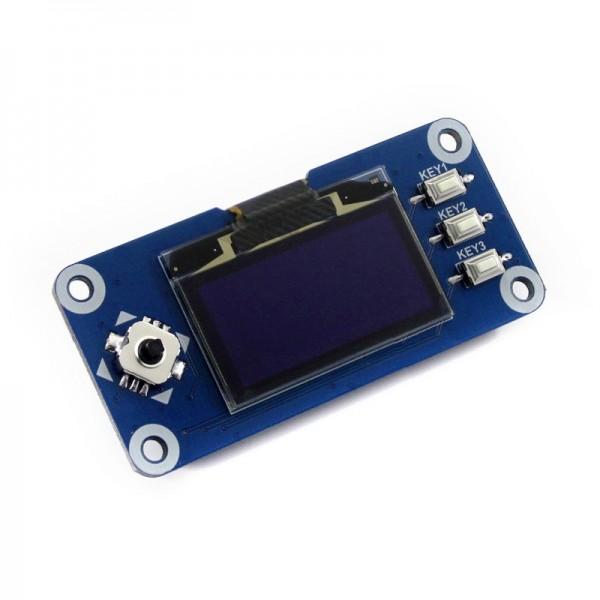 """1.3"""" OLED Display HAT für Raspberry Pi, einfarbig (blau)"""
