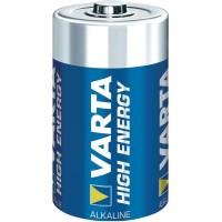 VARTA High Energy Batterien Alkaline Mono D, 2er Blister