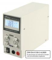 McPower Labornetzgerät LBN-303, regelbar, 0-30 V, 0-3 A, LC-Anzeige
