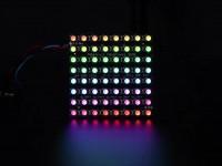 Adafruit NeoPixel NeoMatrix - 64 RGBW - Natürliches Weiß