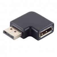 DisplayPort 1.4 Adapter, 90° Winkel rechts