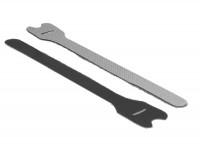 Kabelbinder, Klettverschluss L 240 mm x B 13 mm 10 Stück schwarz