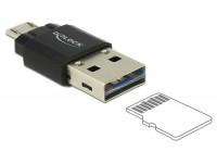 OTG Micro SD Cardreader Micro B Stecker - A Stecker