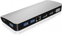 ICY BOX Multi Dockingstation USB-C - USB3.0 / HDMI / DP / LAN