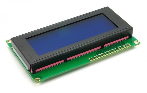 LCD 20x4 blau / weiß