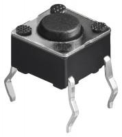 Kurzhubtaster, vertikale Printmontage, 6x6mm, H 4,3mm