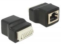 Adapter Terminalblock - RJ45 Buchse