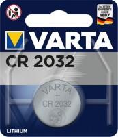 VARTA Knopfzelle Lithium CR2032, 1er Blister
