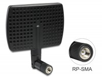 WLAN 802.11 b/g/n Antenne RP-SMA 7 dBi direktional Gelenk